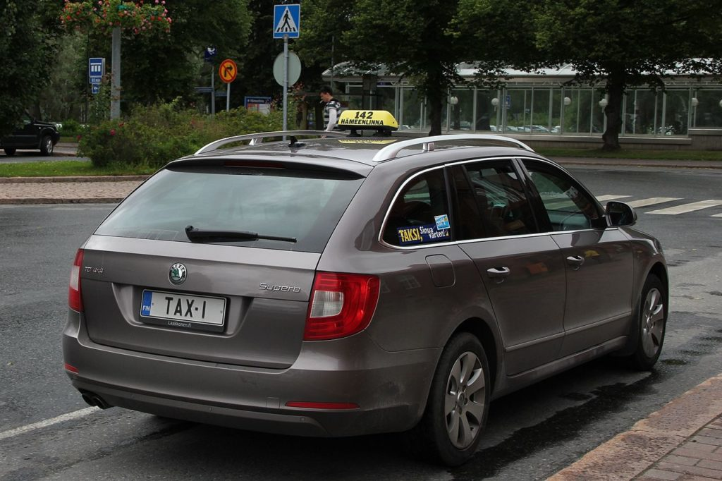Kuvituskuva. Kuvan taksi ei liity tapaukseen.